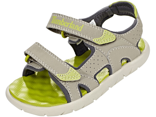 Timberland Perkins Row 2-Strap Sandals Kids Medium Grey